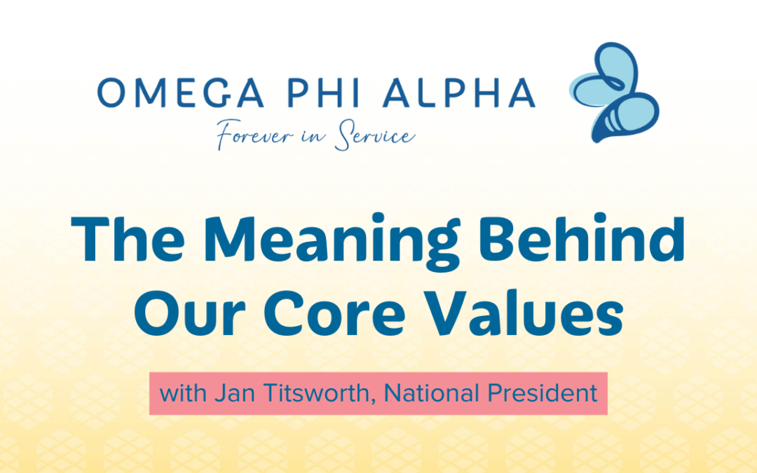 The meaning behind our core values