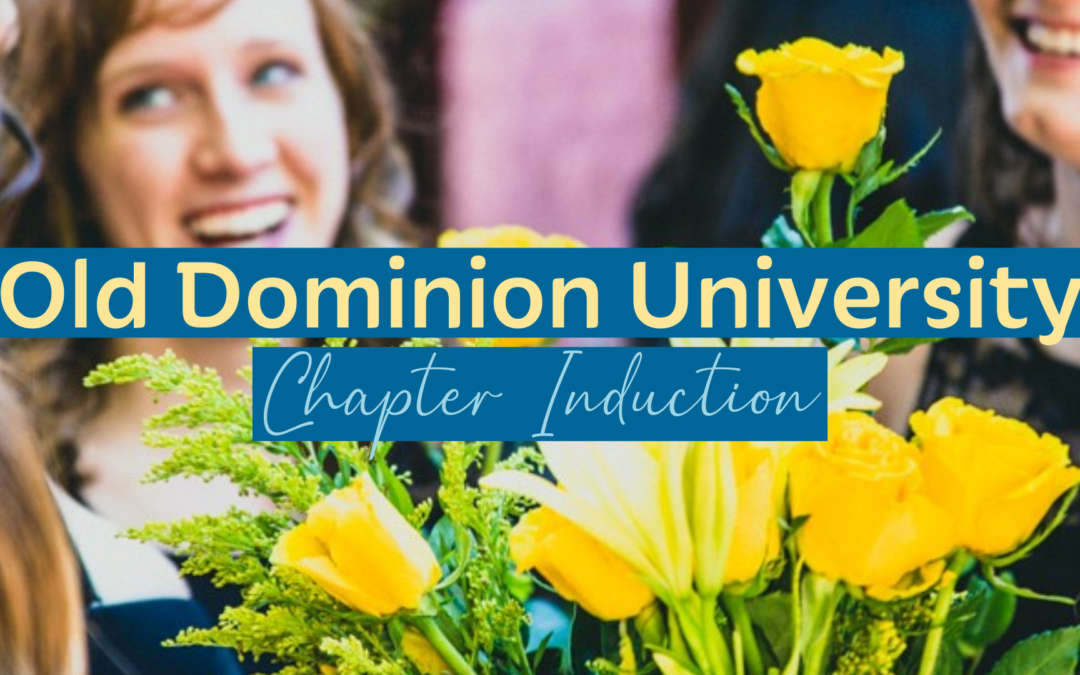 Old Dominion University Chapter Induction