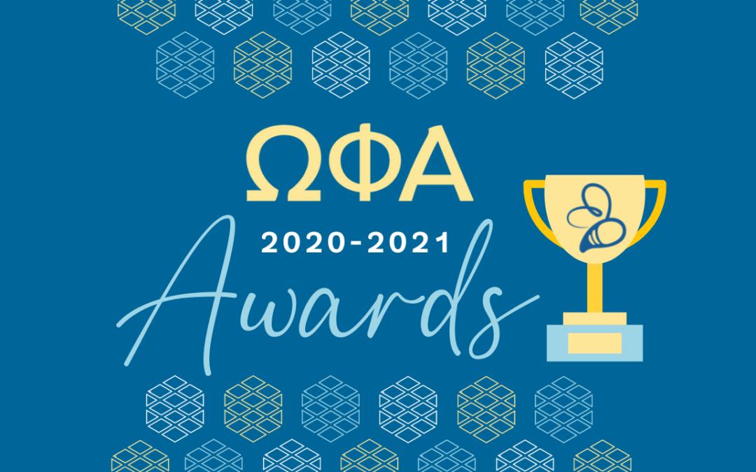 Congrats 2020-2021 Awards Recipients