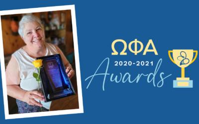 Cheryl Roberts awarded Susan Terzian Award