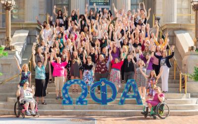 Omega Phi Alpha seeking applicants for Vice President of Lifetime Membership